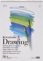 200 series teken papier A3-formaat 104g/m² 40 vellen in een dubbelspiraal gebonden blok