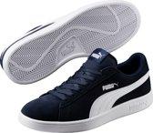 PUMA Smash v2 Sneakers Unisex - Peacoat-White