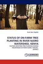 Status of On-Farm Tree Planting in River Njoro Watershed, Kenya