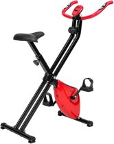 TecTake hometrainer - X bike - licht & opvouwbaar met LCD display - 401715