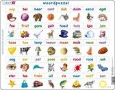 Puzzel Maxi Leren Lezen - Woordpuzzel - 40 stukjes