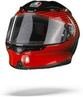 AGV K6 MAX VISION RUSH BLACK RED FULL FACE HELMET L