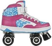 Powerslide Rolschaatsen Quad Player Roze/blauw Maat 40