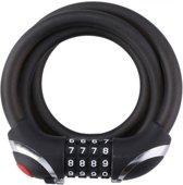 Dunlop Kabelslot Met Verlichting 1200 Mm Zwart