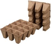 Nature Turfpottrays 5x4x4cm set a 6 trays van 12 stuks