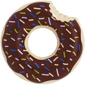 Zwembad luchtbed (120cm) - Bruine Donut
