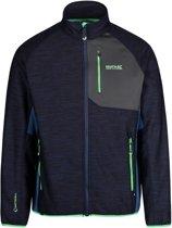Regatta Farway III Hybrid Softshell Jas Heren  Outdoorjas - Maat XL  - Mannen - blauw/grijs/groen