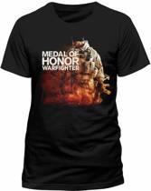 MOH Warfighter - Black Character T-shirt - 2XL