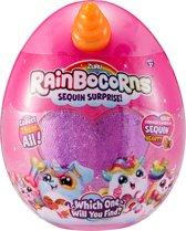 Rainbocorns Hamster - Knuffeldier met glitterpailletten