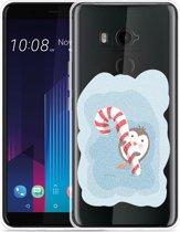HTC U11 Plus Hoesje Candy Pinquin