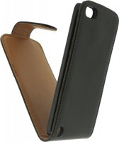 Xccess Leather Flip Case Apple iPod Touch 5th Generation Black