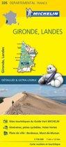 Gironde / landes 11335 carte ' local ' ( France ) michelin kaart