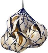 Sportec Nylon Draagnet 10/12 Ballen Blauw (verpakking)