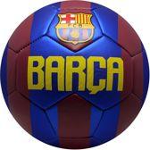 Fc Barcelona Voetbal Barca Kunstleer Maat 5 Rood/blauw