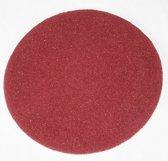Diamantpads 42.5 cm, 2 cm, 17 inch rood