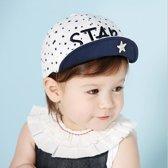 Wit blauwe pet star | 5-24 maanden