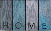 Schoonloopmat met print / Ecomaster Sloophout Home 022 / 45 cm x 75 cm / Sloophout Home 022