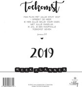Words and letters weekplanner 2019