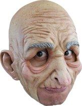 Oude man masker van latex voor volwassenen - Verkleedmasker