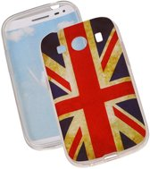 Britse Vlag TPU Cover Case voor Samsung Galaxy Ace Style G357 Hoesje