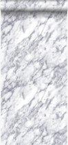 Origin behang marmer donker ivoor wit - 347388