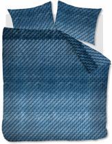 Beddinghouse Layered Tones  - Dekbedovertrek - Eenpersoons - 140x200/220 cm + 1 kussensloop 60x70 cm - Blue