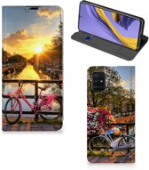Samsung Galaxy A51 Book Cover Amsterdamse Grachten