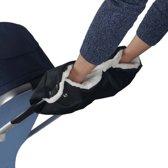 Kinderwagen Handwarmer Handschoenen - Buggy Handenwarmer - Zwart
