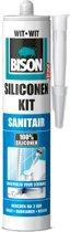 Bison Siliconenkit Sanitair Koker -  Wit - 310 ml