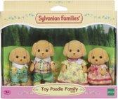 Sylvanian Families 5259 Familie Poedel - Speelfigurenset