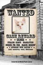 Turkish Van Cat Wanted Poster Journal