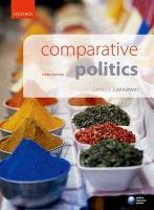 Boek cover Comparative Politics van Caramani