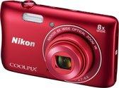 Nikon COOLPIX S3700 - Rood