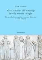 Myth as Source of Knowledge in Early Western Thought