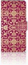 LG V40 Thinq Boekhoesje Design Barok Pink