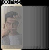 Let op type!! 100 stuks voor Huawei Honor 9 0 26 mm 9H oppervlaktehardheid 2.5D gebogen rand gehard glas Screen Protector