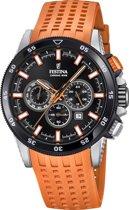 Festina Chronobike Orange horloge  - Oranje