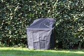 MaximaVida zwarte beschermhoes adirondack tuinstoel en stapelstoel - Zware 600 gr/m2 uitvoering