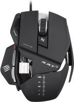 Madcatz R.A.T. 5 Gaming Muis Zwart PC