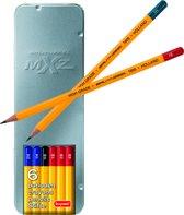 Bruynzeel school potloden 2H - HB - 2B - 1H - 1B - 4B