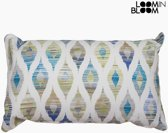 Kussen Blauw (50 x 70 cm) - Jungle Collectie by Loom In Bloom
