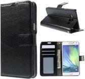Cyclone wallet hoesje Samsung Galaxy A3 2015 zwart