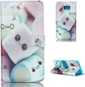 iCarer Candy print wallet case hoesje Samsung Galaxy S6 Edge