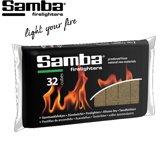 Samba Aanmaakblokjes Bruin (32 Stuks)
