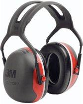 3M Peltor X3 - gehoorbeschermer - SNR 33 dB - zwart met rood