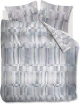 Kardol Titanium - Dekbedovertrek - Tweepersoons - 200x200/220 cm - Grijs