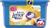 Lenor 3in1 Pods Gouden Orchidee - Voordeelverpakking 66 Wabeurten - Wasmiddelcapsules