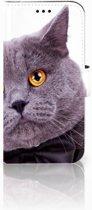 Samsung Galaxy J3 2017 Uniek Telefoonhoesje Met Kat