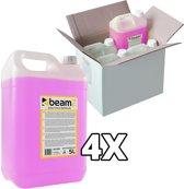 Rookvloeistof - BeamZ rookvloeistof voordeelpakket met 20 liter geconcentreerde rookvloeistof (4x 5 liter)