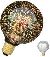 Bailey LED Magic 3D G95 E27 240V 4.5W Fireworks 40lm